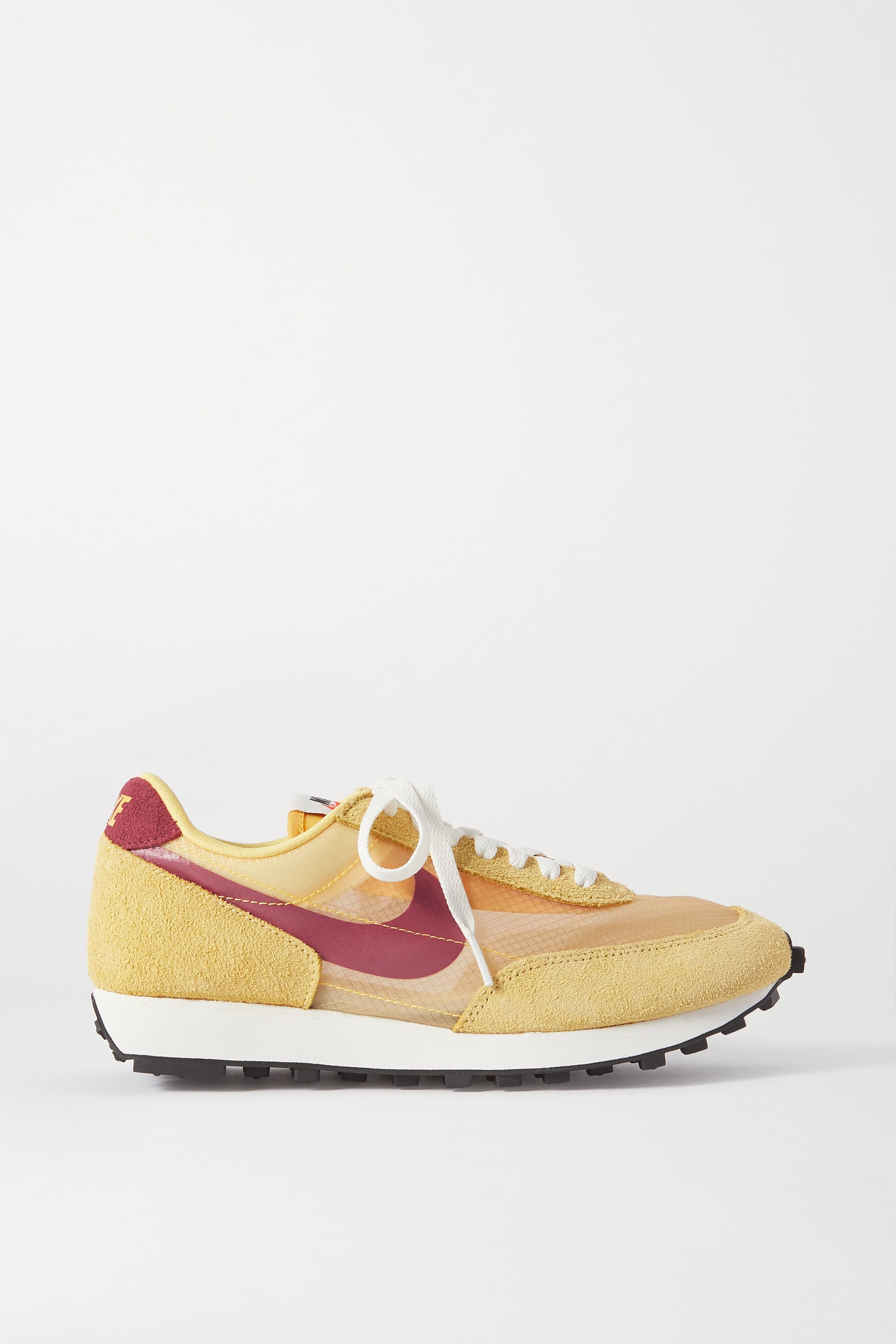 víctima Fragante escarcha  Yellow Daybreak SP faux suede and ripstop sneakers | Nike | NET-A-PORTER