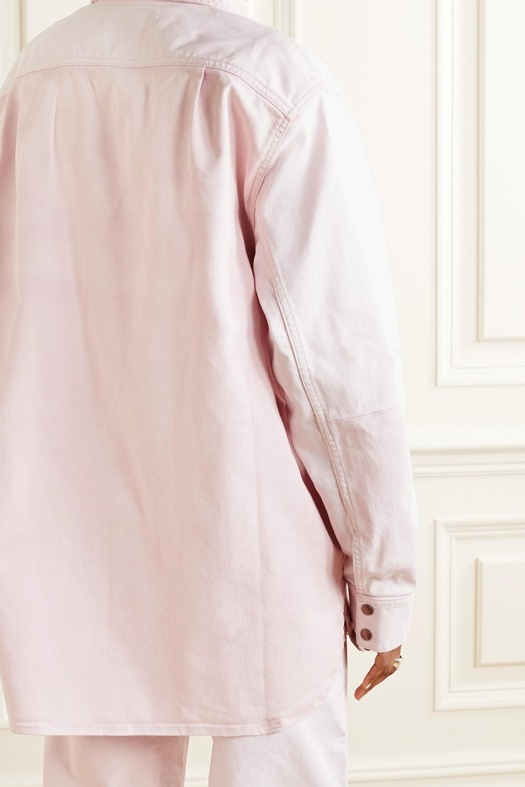 Acne Studios + NET SUSTAIN oversized organic denim jacket