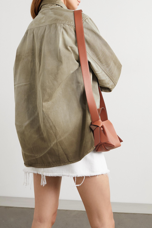 Acne Studios + NET SUSTAIN dégradé organic cotton-twill jacket