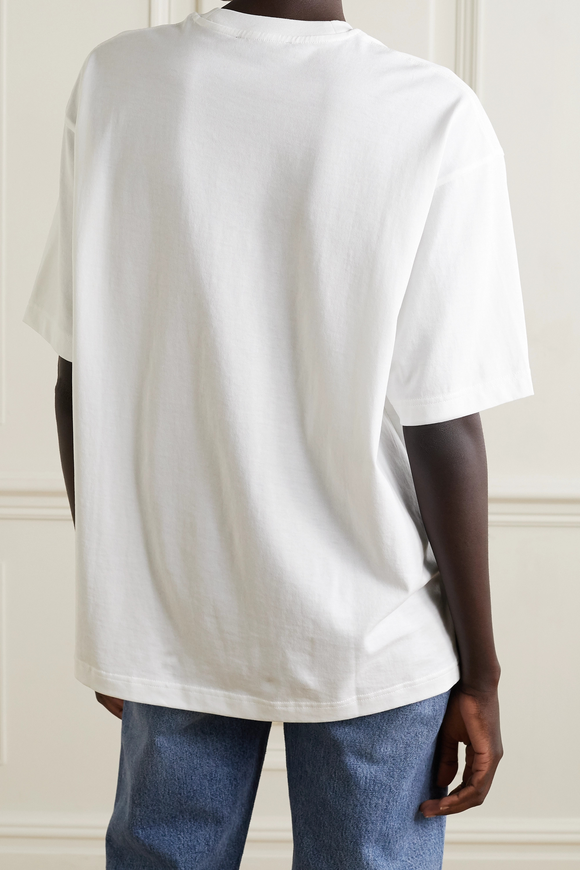 Acne Studios + NET SUSTAIN oversized printed organic cotton-jersey T-shirt