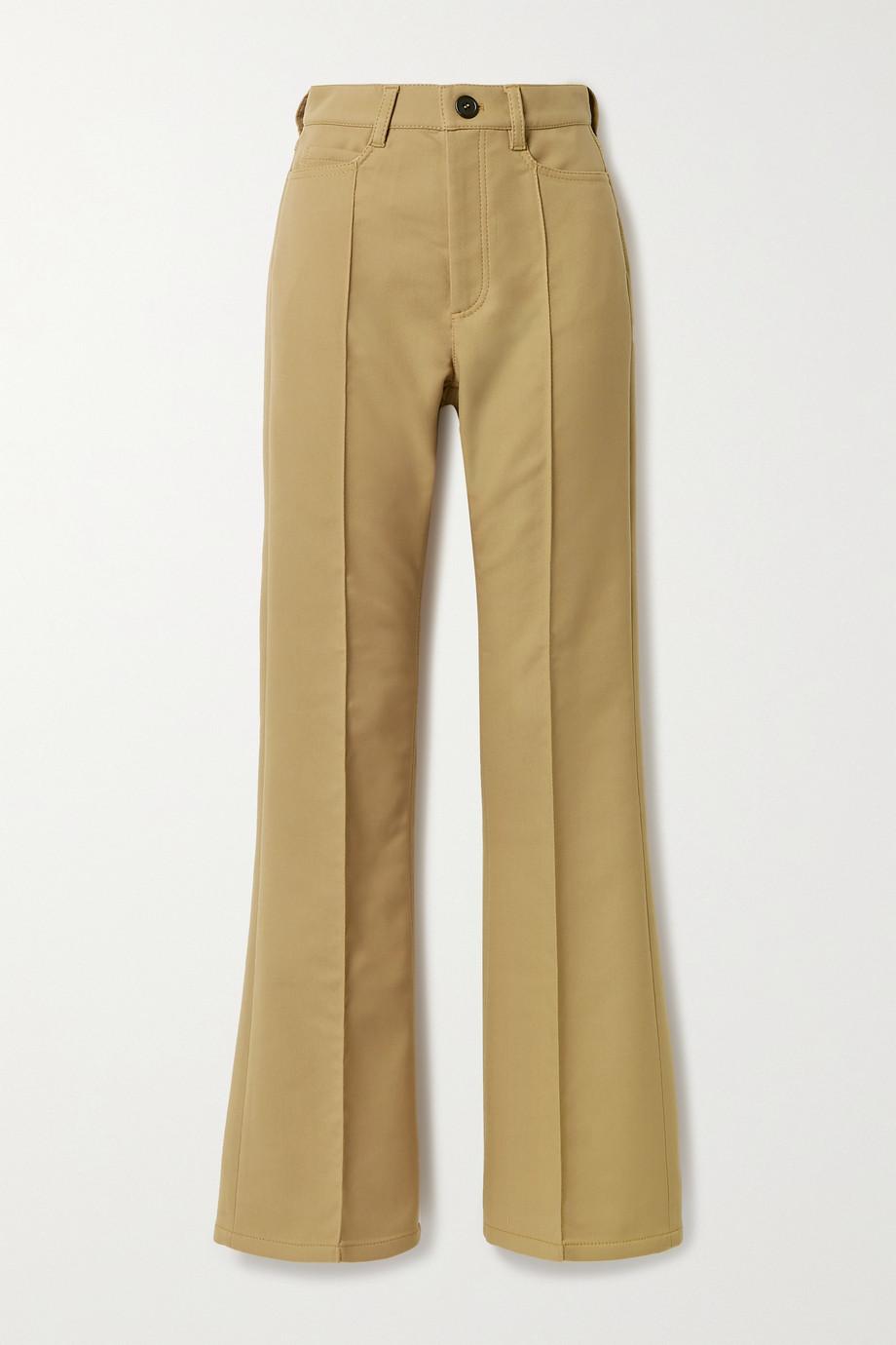 Meryll Rogge Twill flared pants