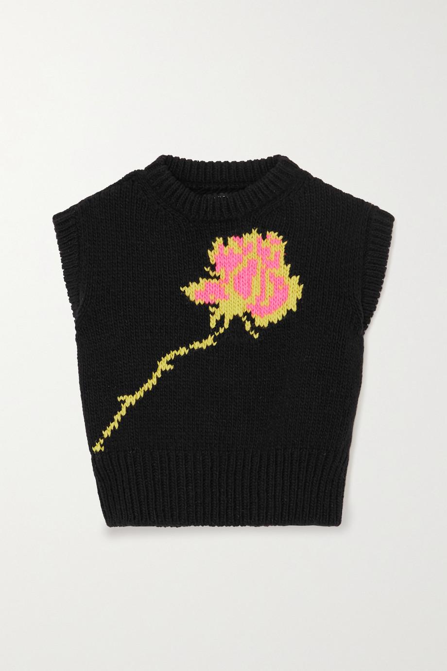 Meryll Rogge Intarsia wool sweater
