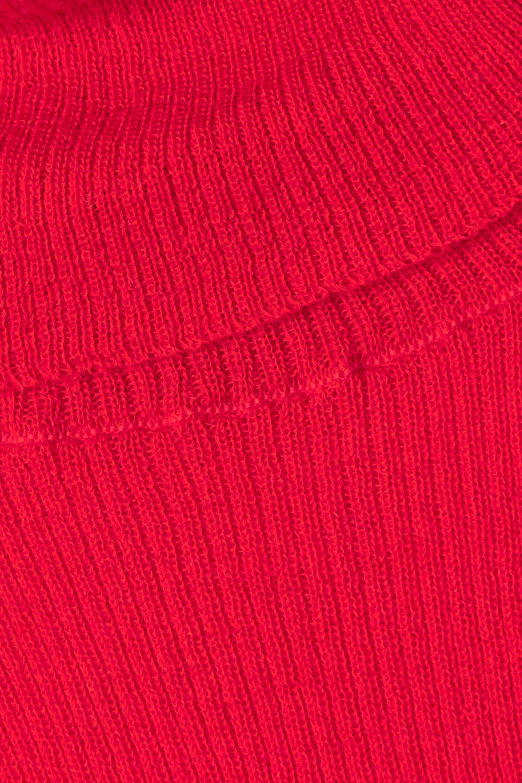 Meryll Rogge Rollkragenpullover aus gerippter Wolle