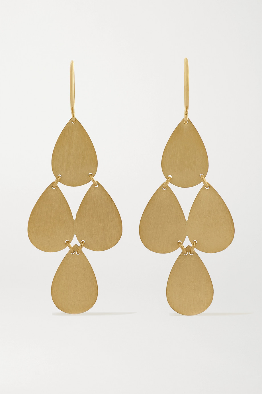 Irene Neuwirth 18-karat gold earrings