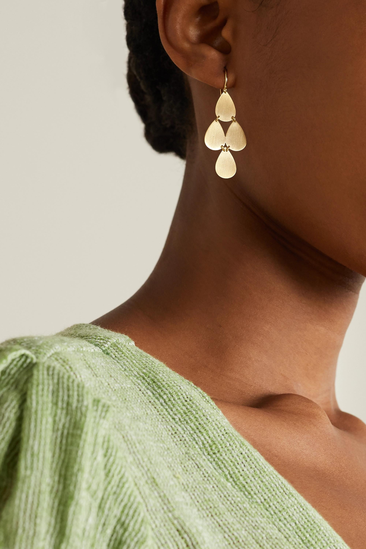 Irene Neuwirth 18-karat gold earrings