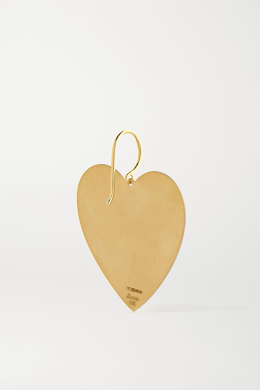 Irene Neuwirth Love 18-karat gold earrings