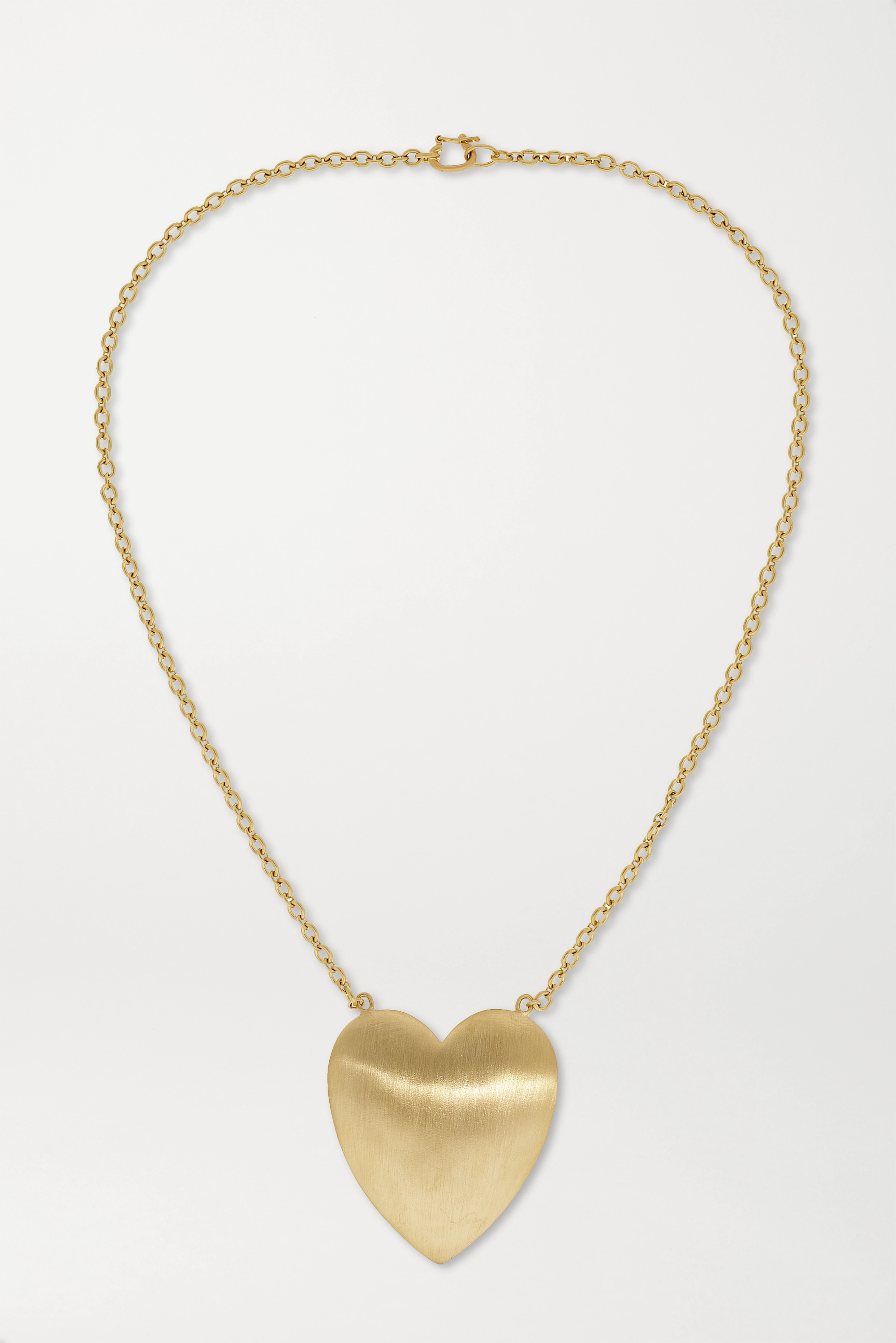 Irene Neuwirth Love 18-karat gold necklace