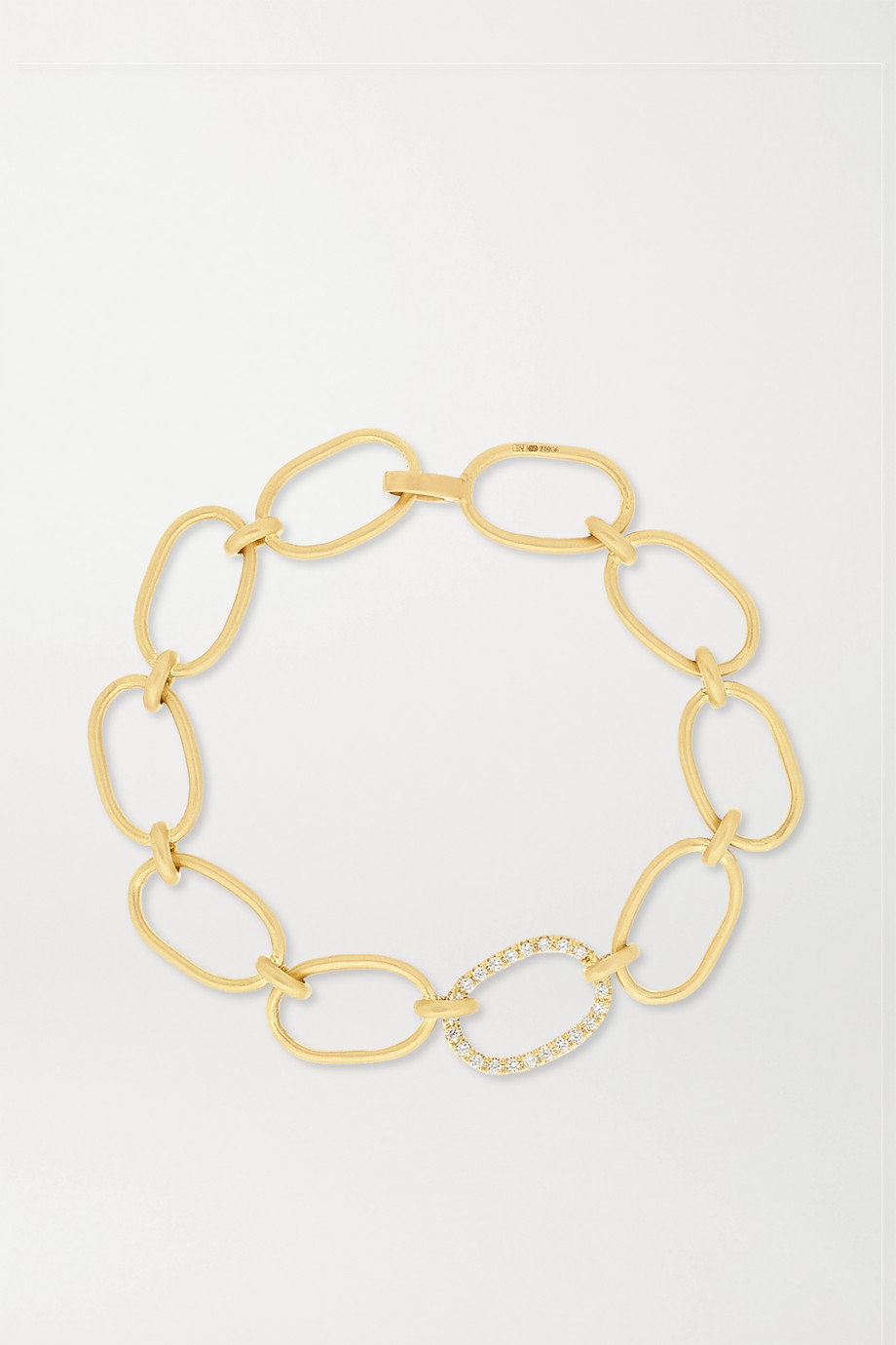 Irene Neuwirth 18-karat gold diamond bracelet