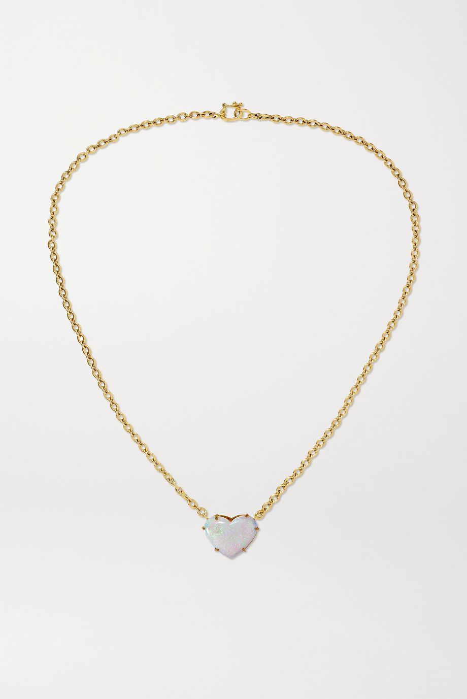 Irene Neuwirth Collier en or 18 carats et opale Love