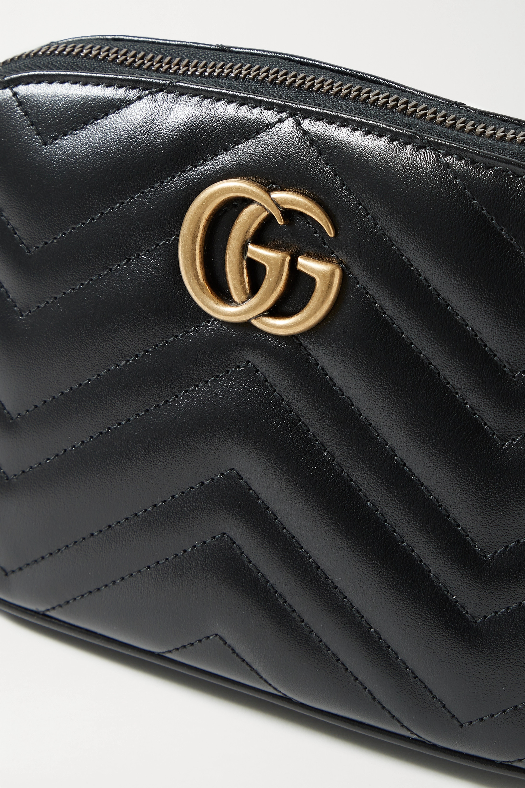 Gucci GG Marmont quilted leather cosmetics case