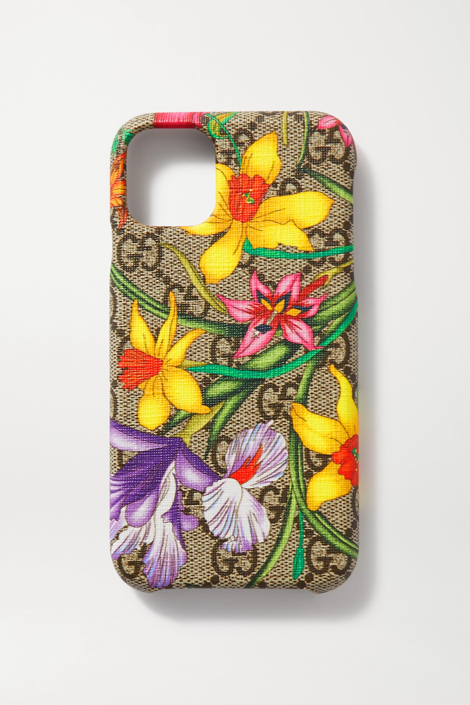 Gucci Printed coated-canvas iPhone 11 case