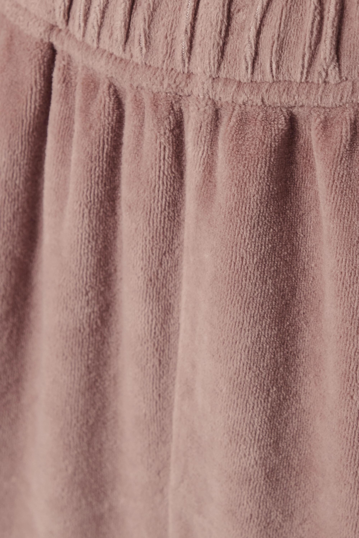 Les Tien Cotton-blend velour track pants
