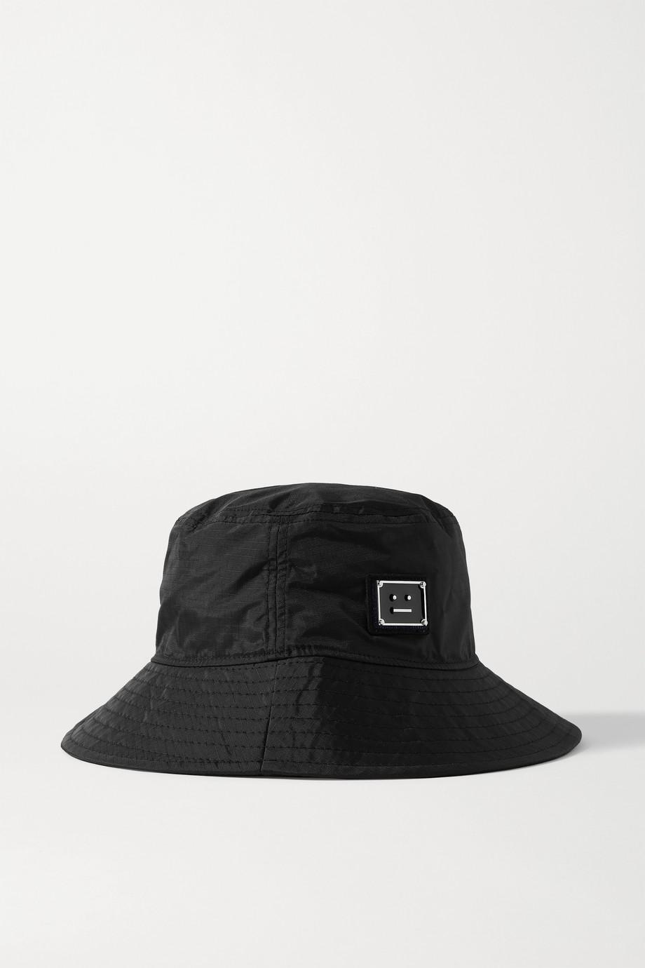 Acne Studios Appliquéd ripstop bucket hat