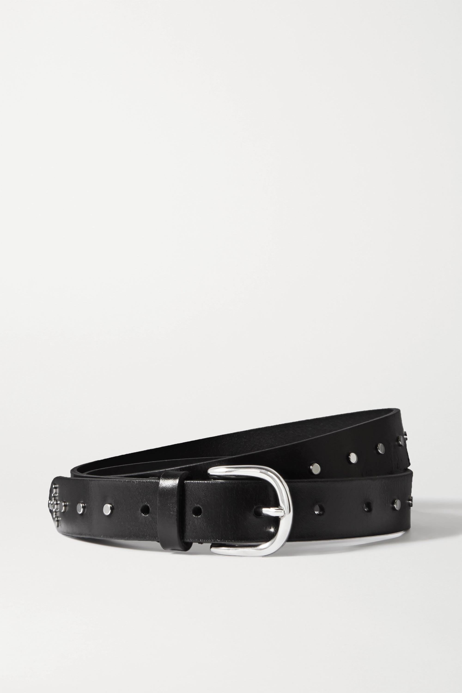 Isabel Marant Zap studded leather belt