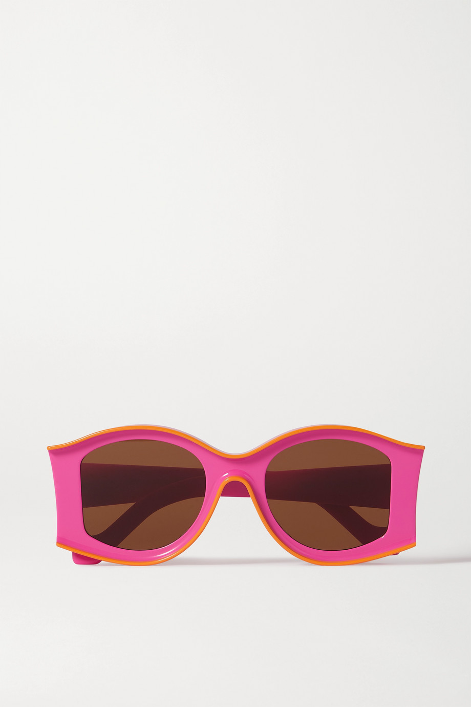 Loewe + Paula's Ibiza Sonnenbrille mit rundem Rahmen aus Azetat
