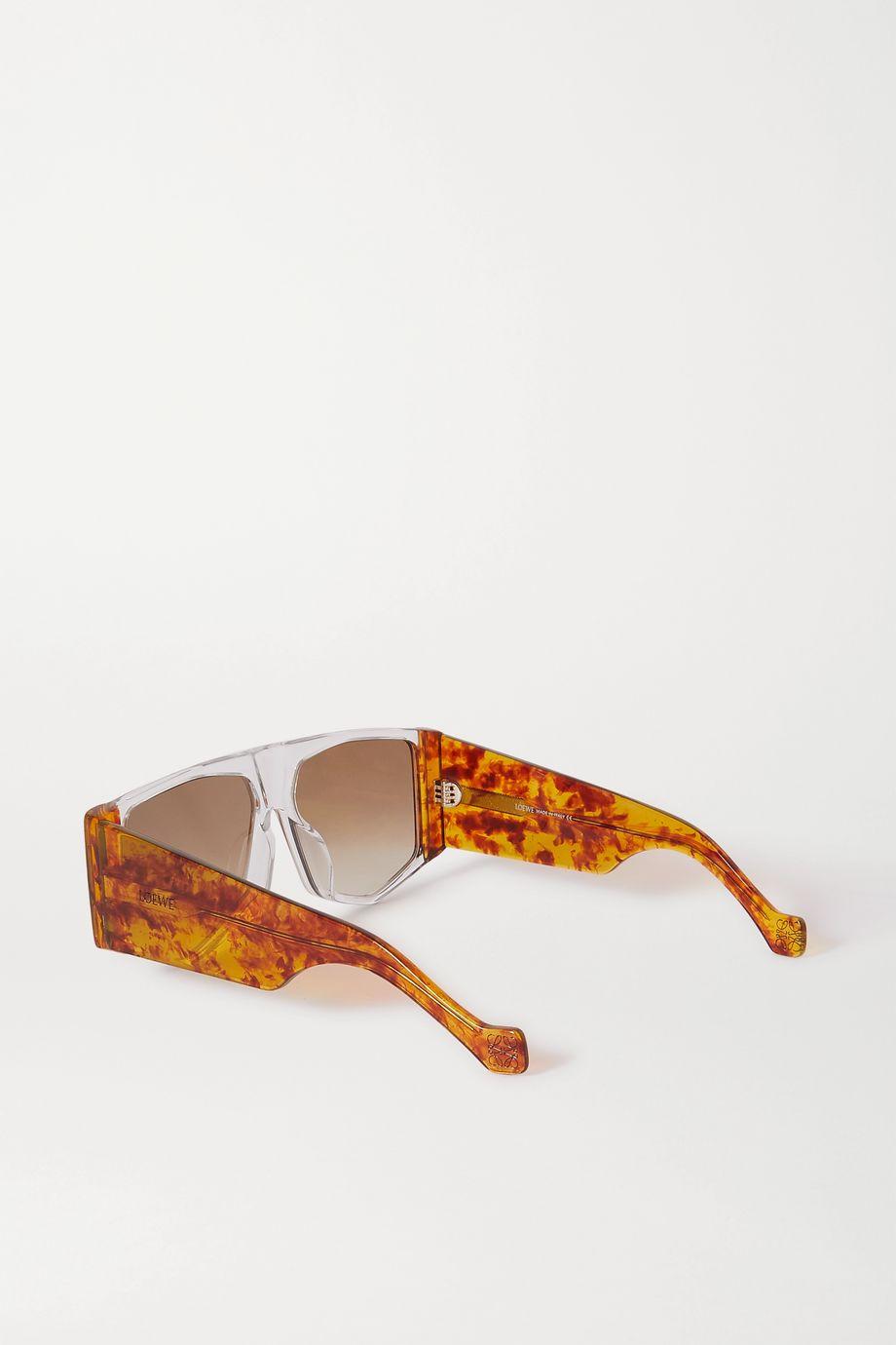 Loewe Oversized D-frame acetate sunglasses