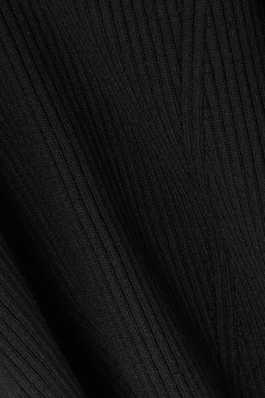 Safiyaa Beryl 罗纹羊毛混纺上衣