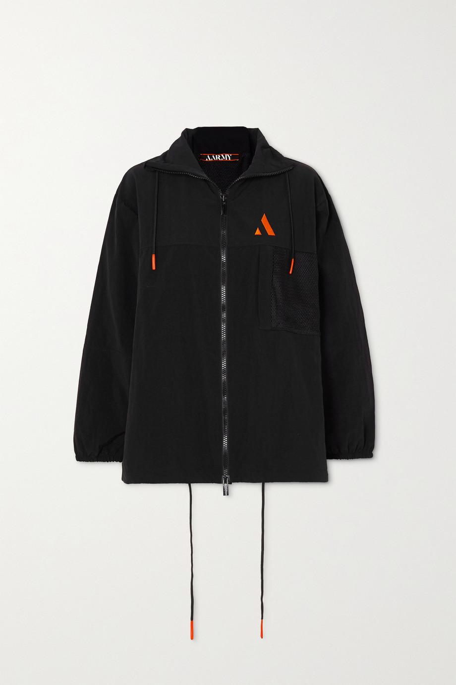 AARMY Trainingsjacke aus Shell mit Stickerei