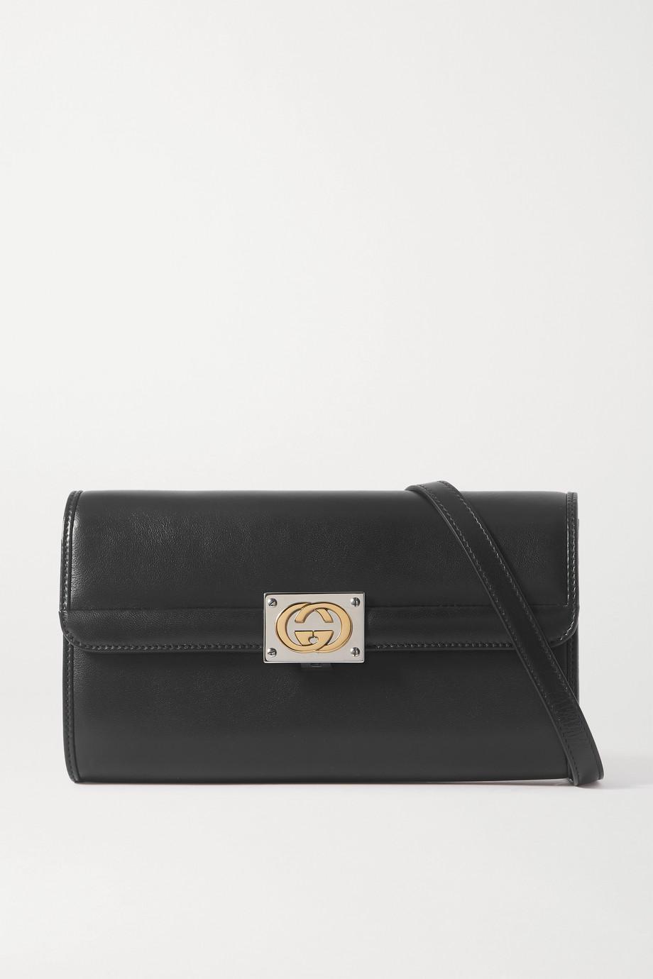Gucci 【NET SUSTAIN】Linea Matisse 皮革小号单肩包
