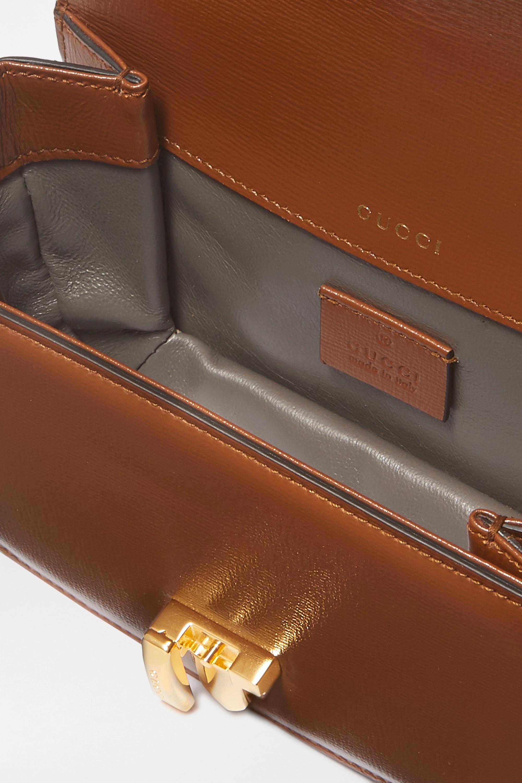 Gucci Sac porté épaule en cuir à chaîne Sylvie 1969 Mini