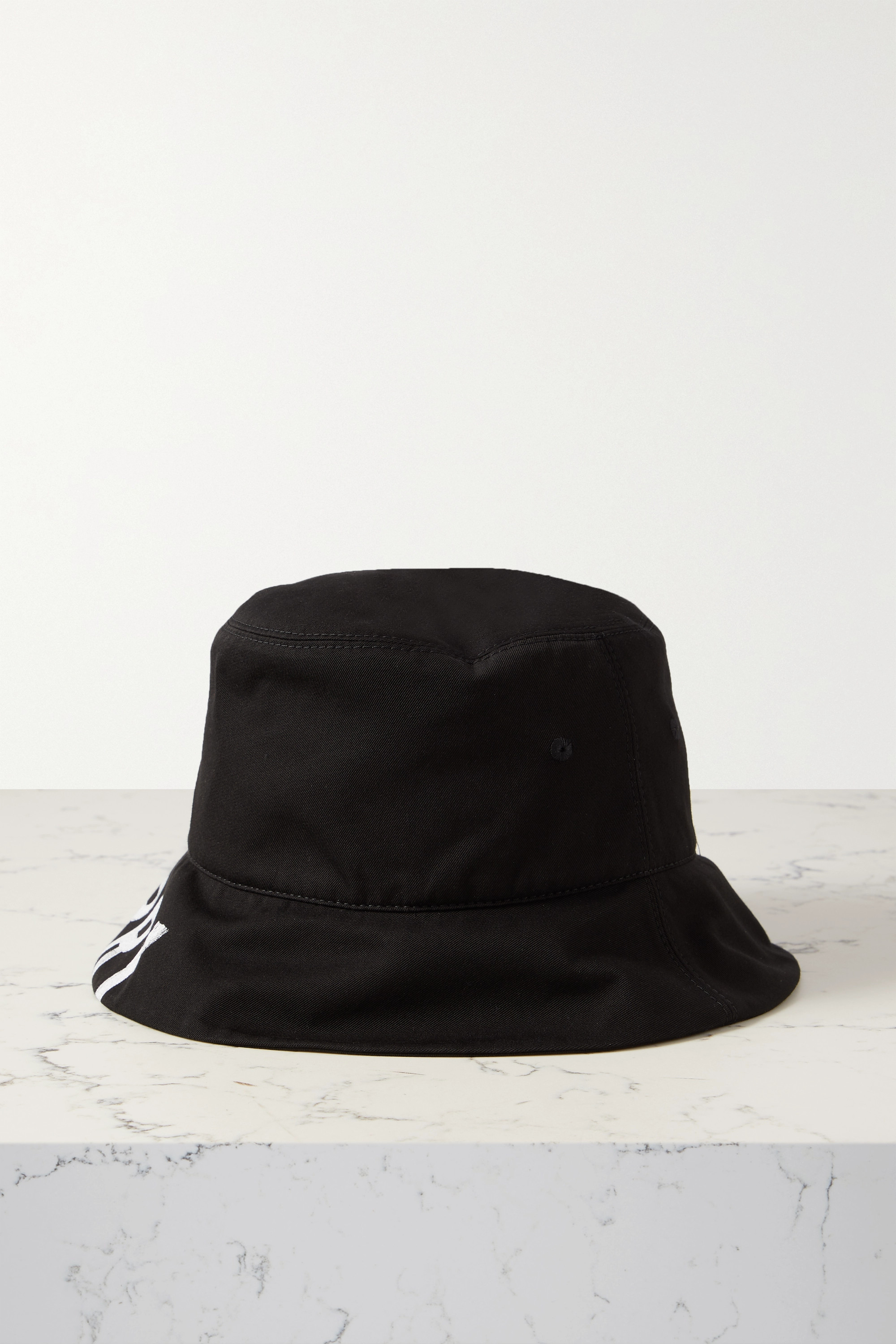 Burberry Reversible printed checked cotton-twill bucket hat