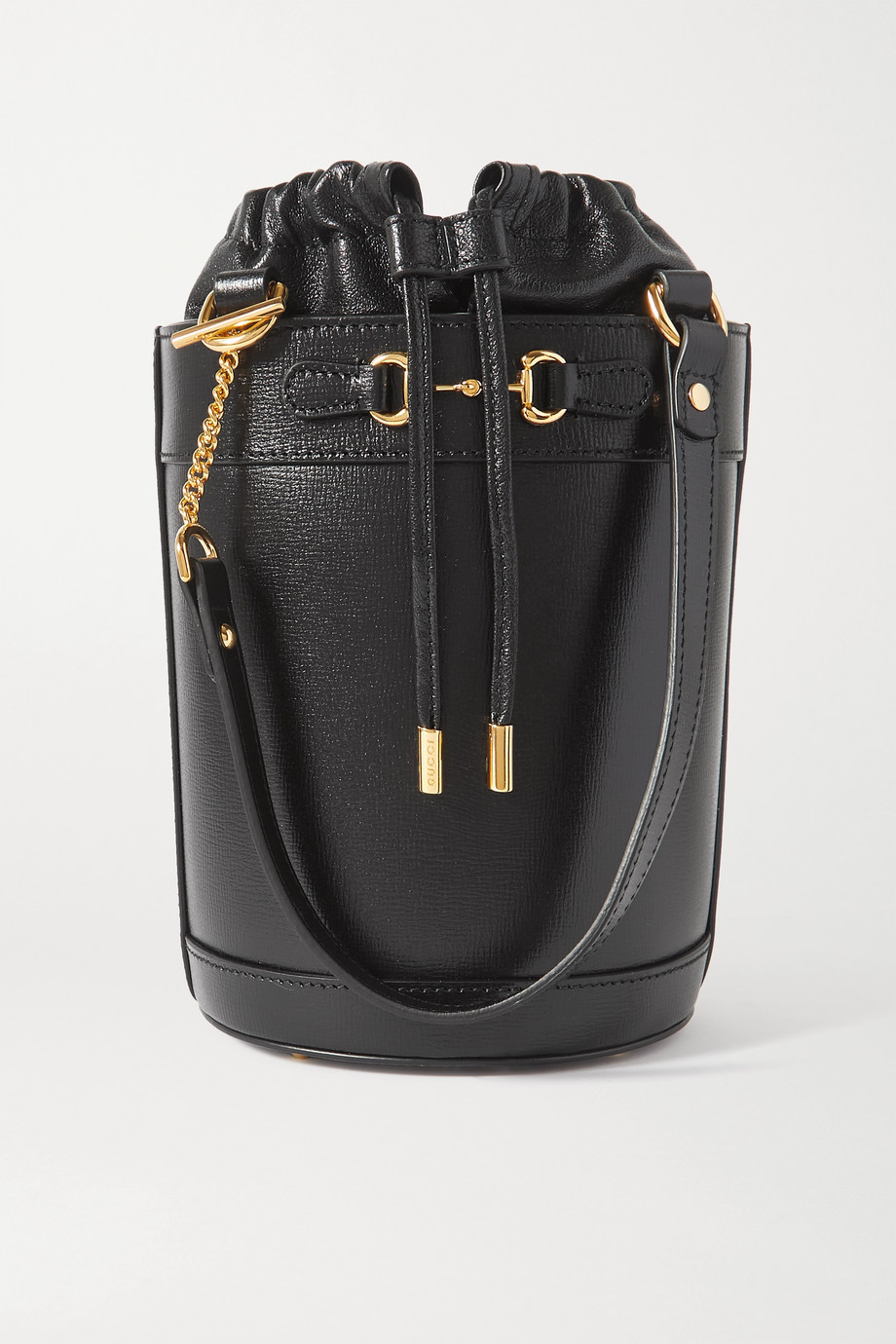 Gucci 1995 Horsebit leather bucket bag