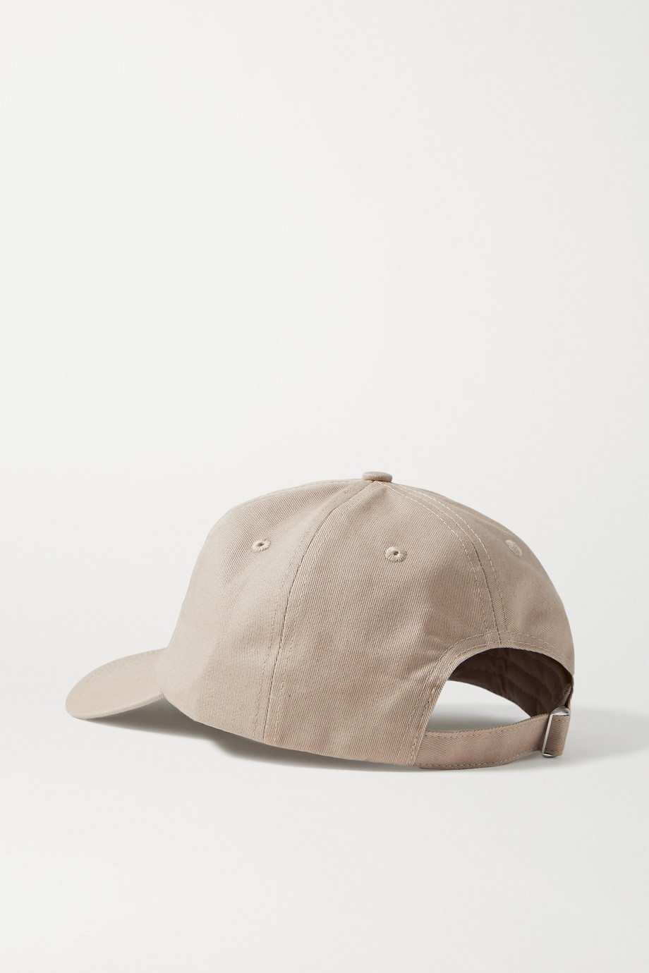 Sporty & Rich Rizzoli embroidered cotton-twill baseball cap