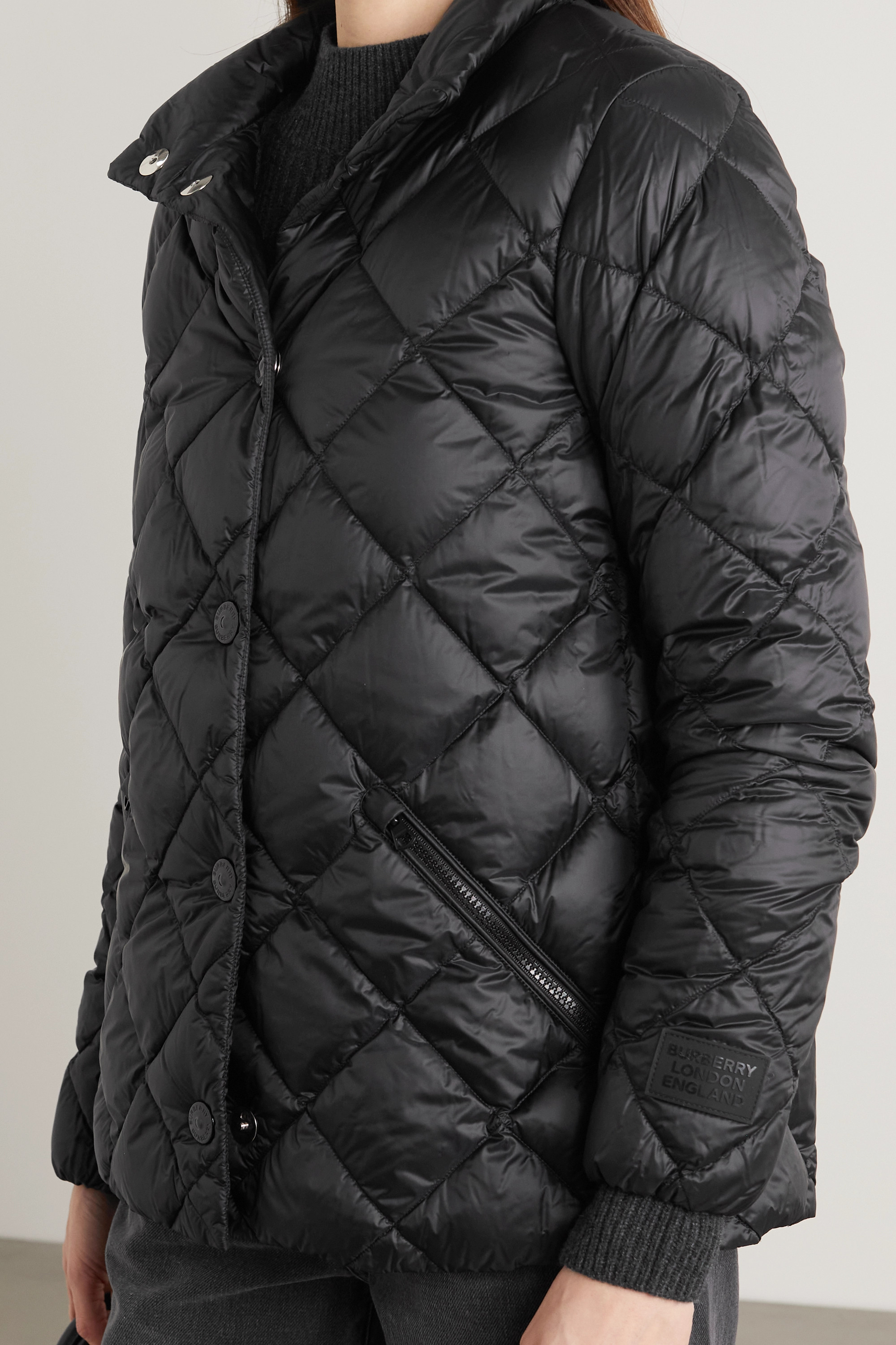 Burberry Quilted shell down jacket