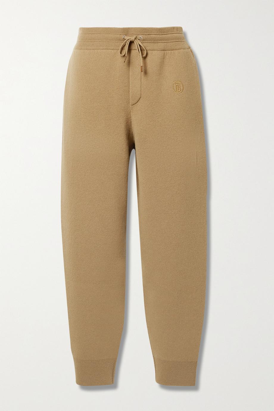 Burberry Pantalon de survêtement en cachemire mélangé