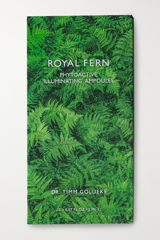 Royal Fern Phytoactive Illuminating Ampoules, 15 x 2ml