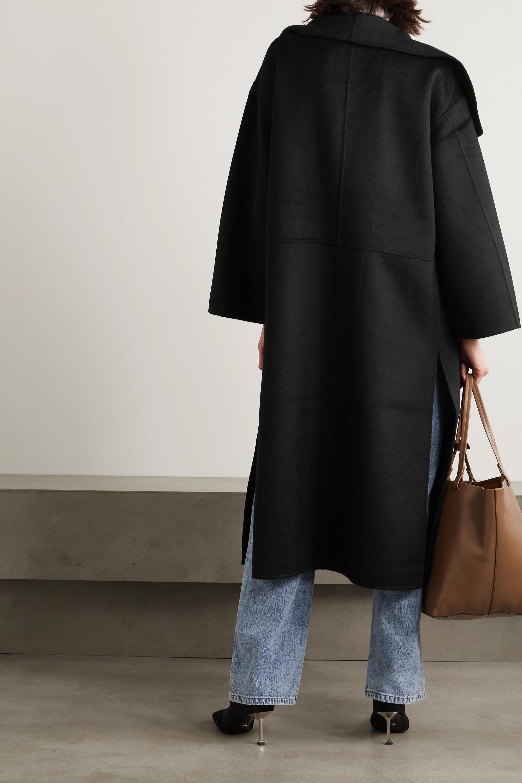 Totême Manteau en laine et cachemire mélangés Signature