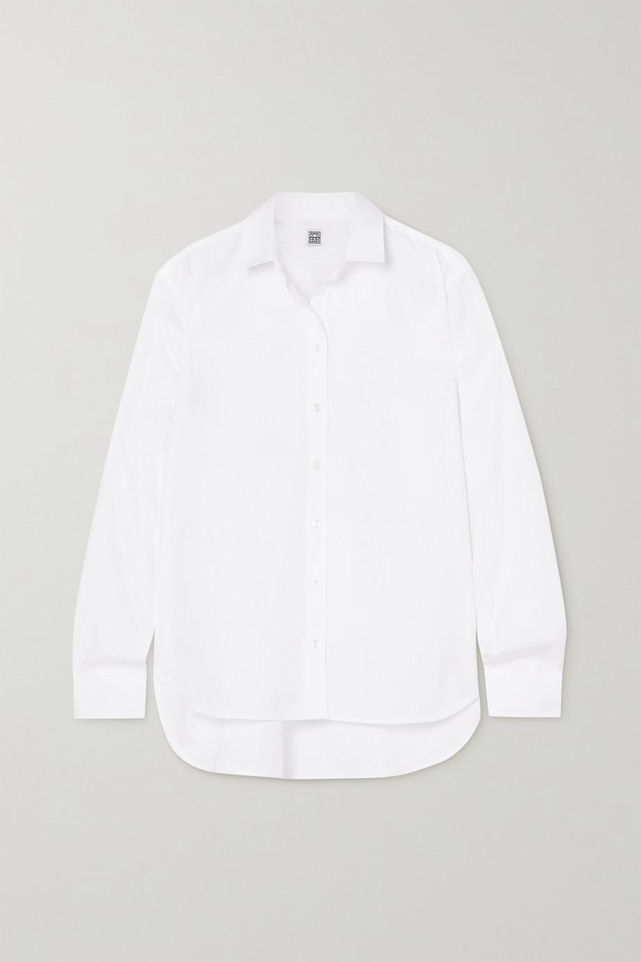Totême Signature 纯棉府绸衬衫