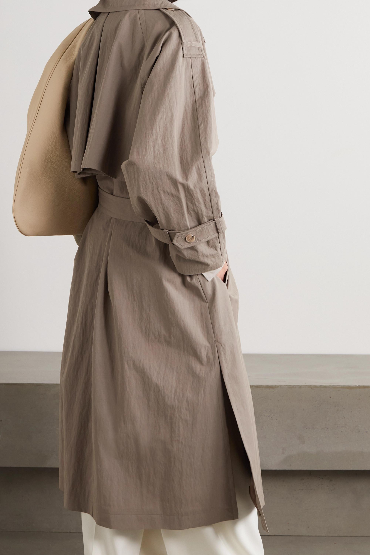 Totême Trench-coat en coton mélangé technique