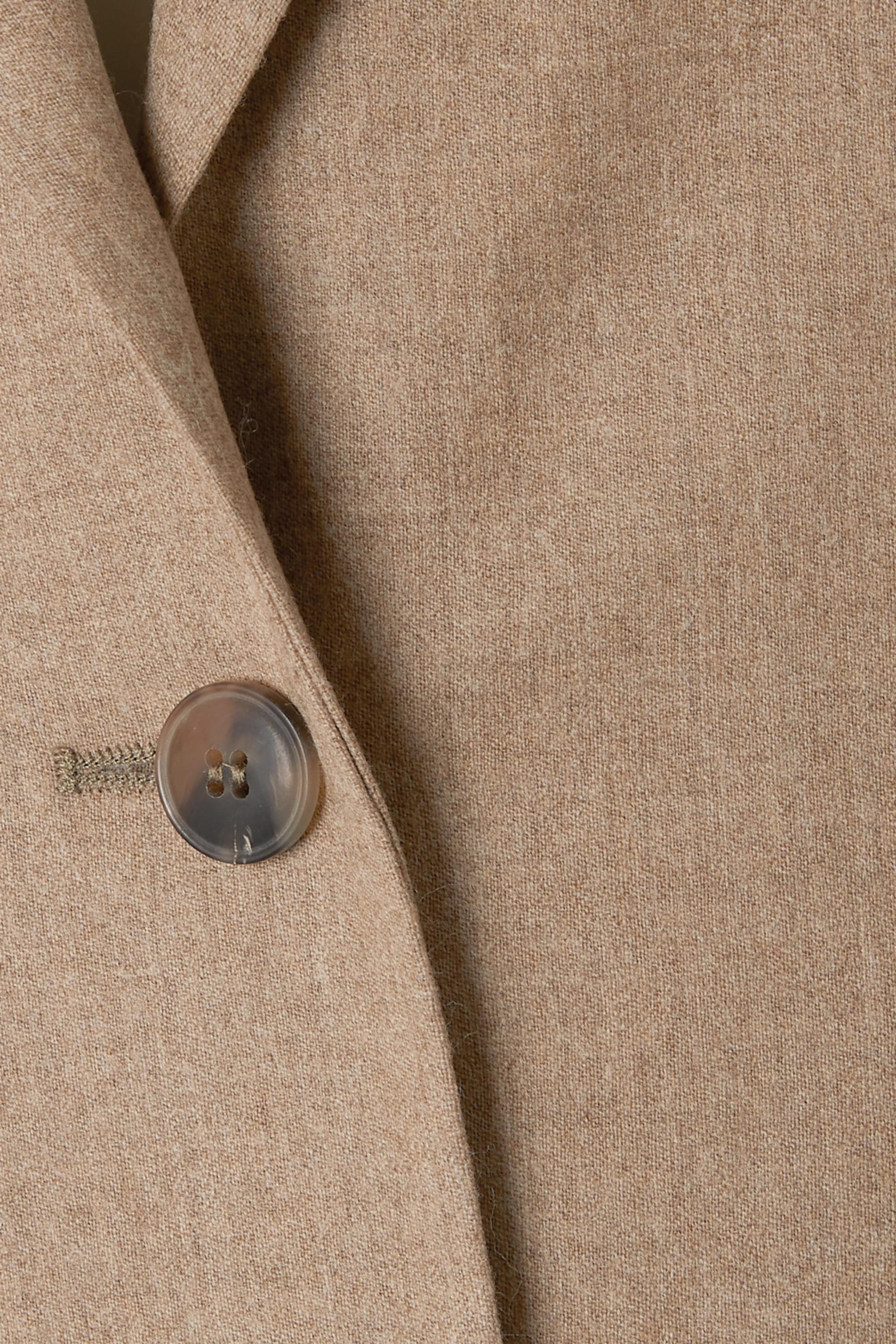 Totême Blazer en flanelle de laine mélangée