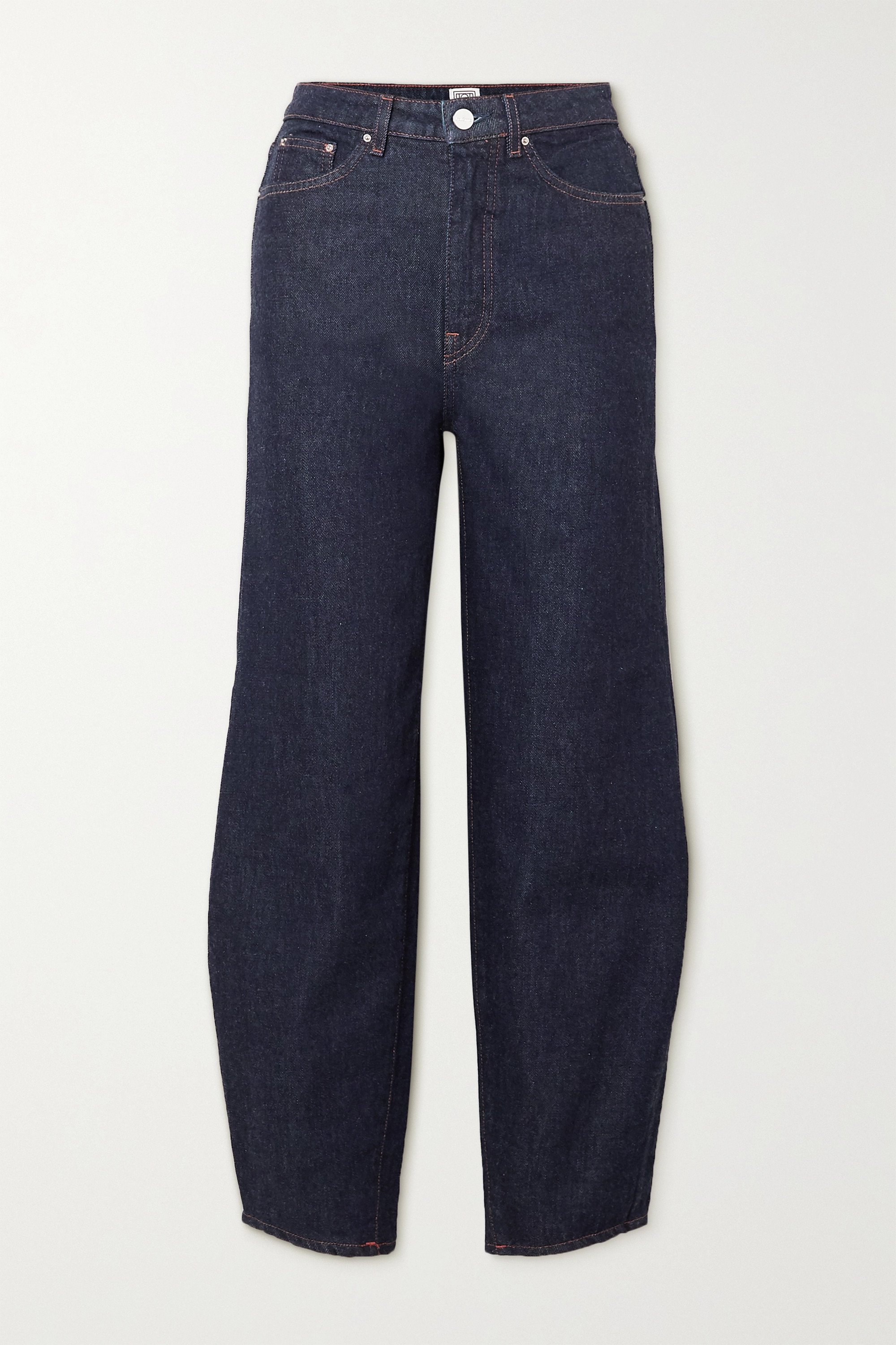 Totême - High-rise tapered jeans