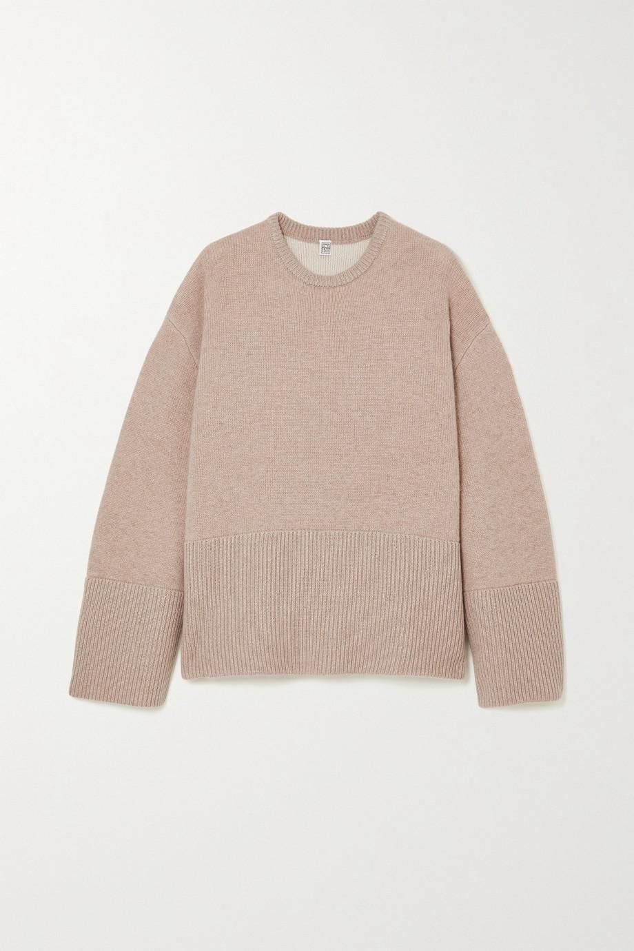 Totême Oversized cashmere sweater