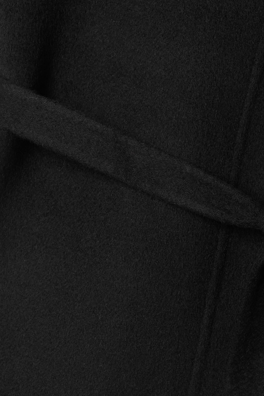 Totême Robe longue en laine à ceinture