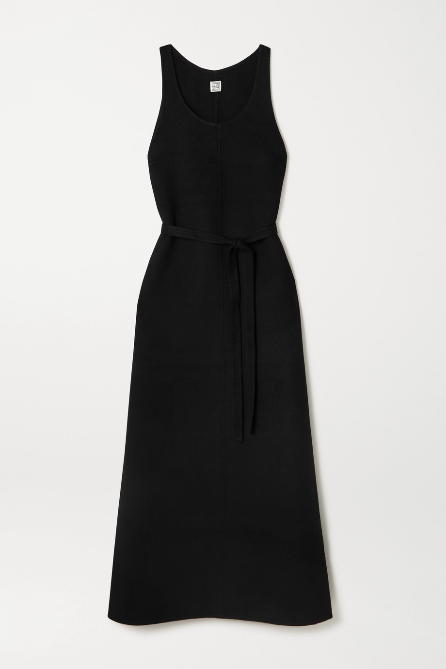 Totême Belted wool maxi dress