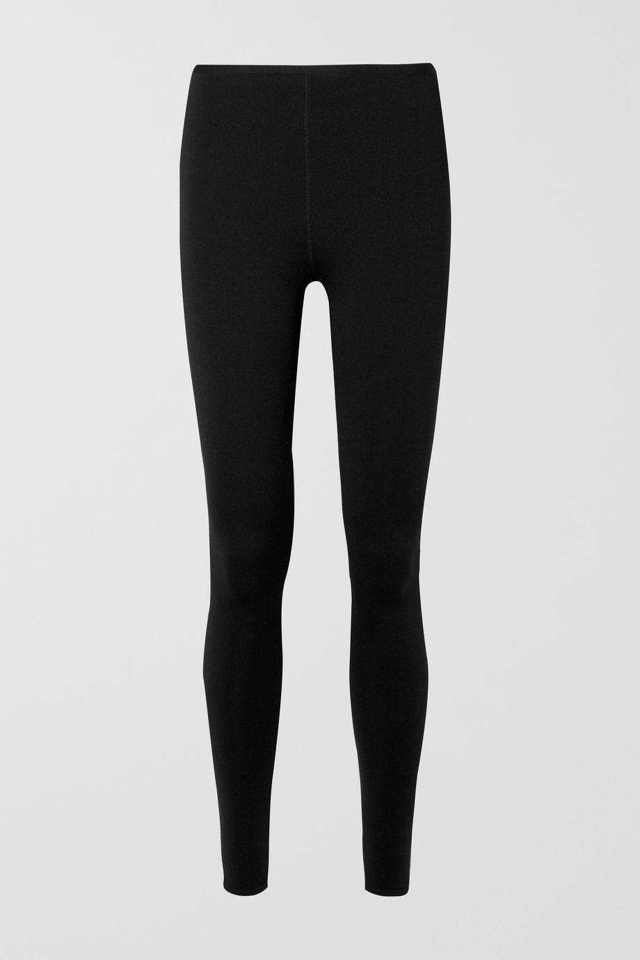 Alaïa Stretch wool-blend leggings
