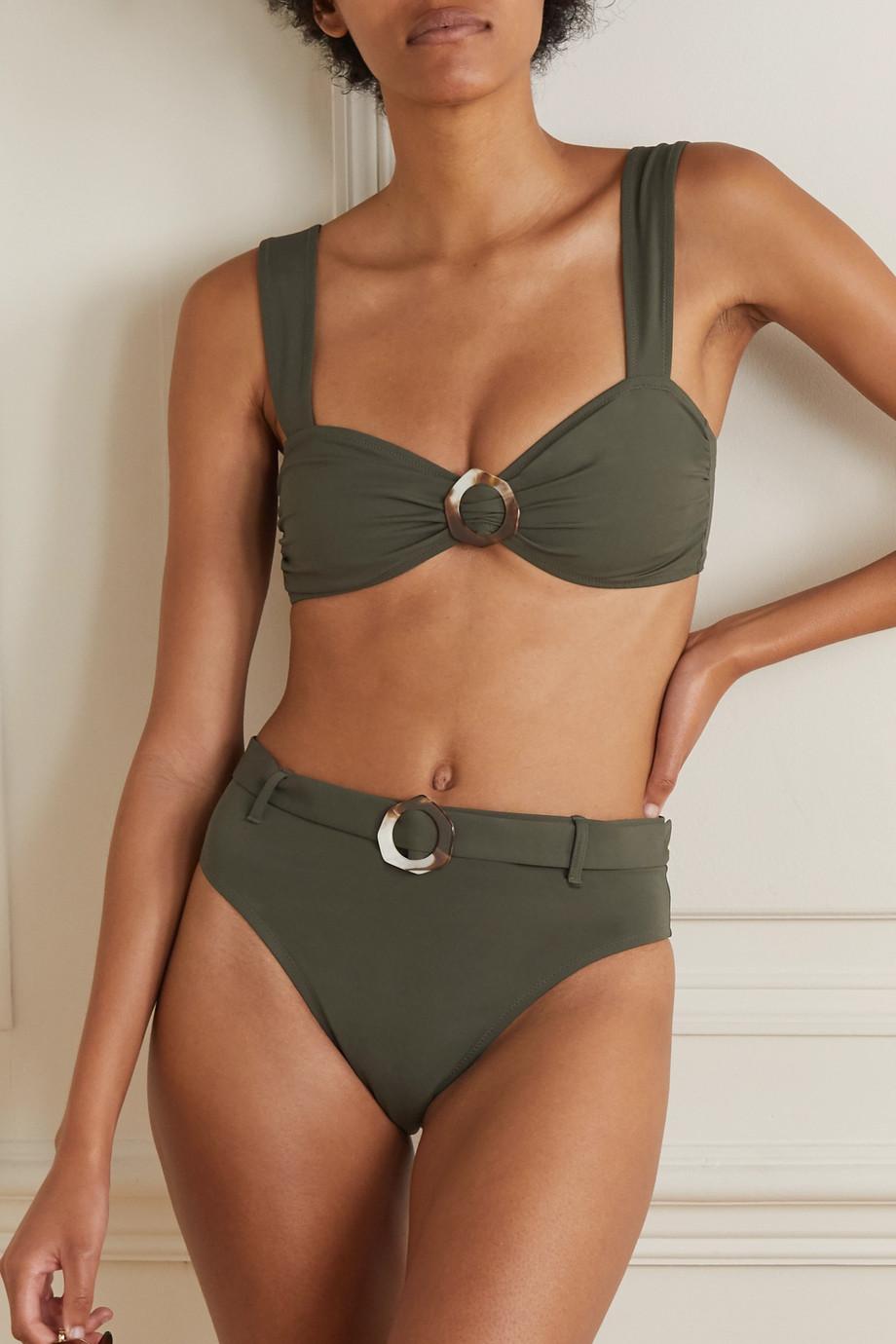 Fisch + Space for Giants + NET SUSTAIN Garbo embellished bikini briefs