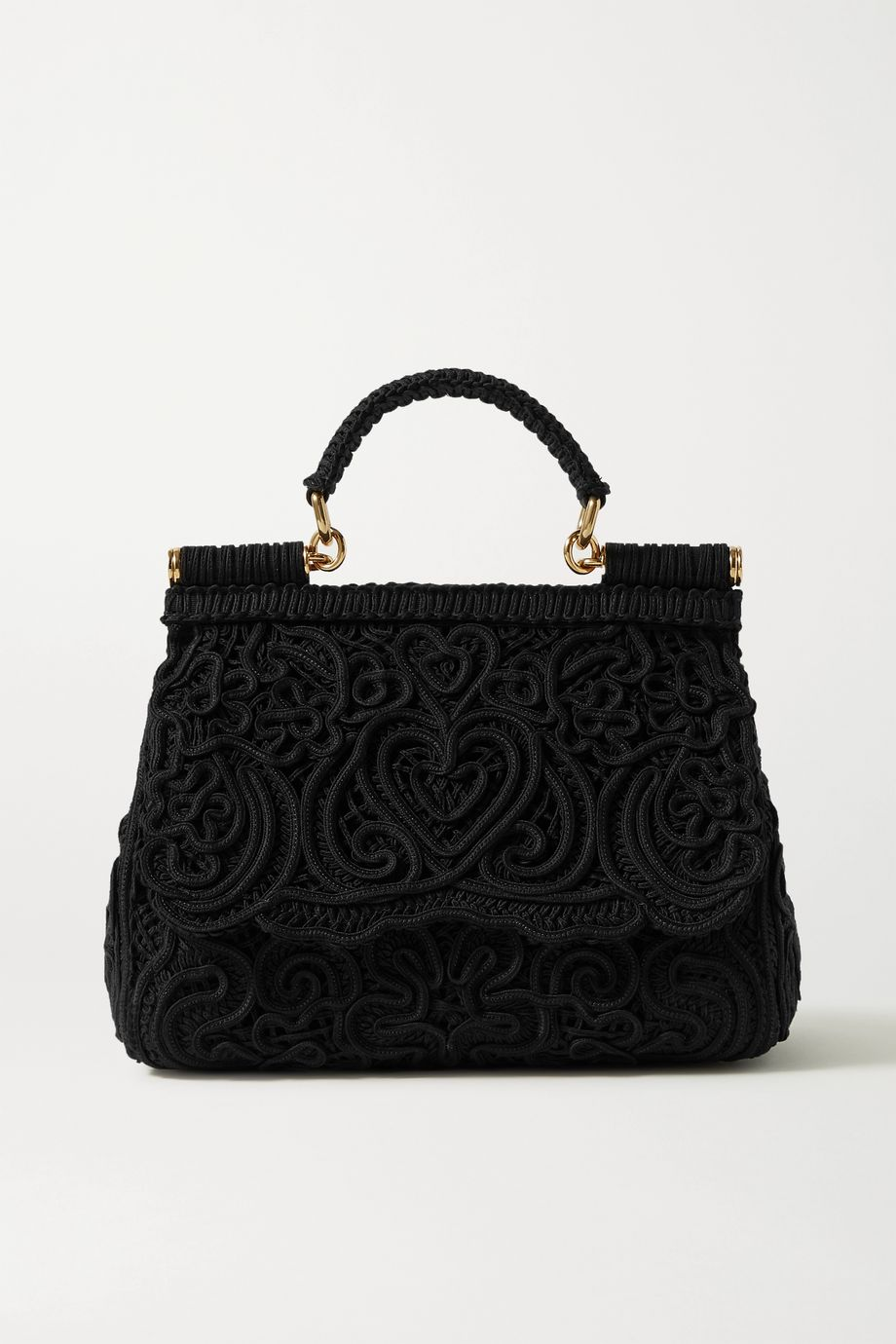 Dolce & Gabbana Sicily crocheted tote
