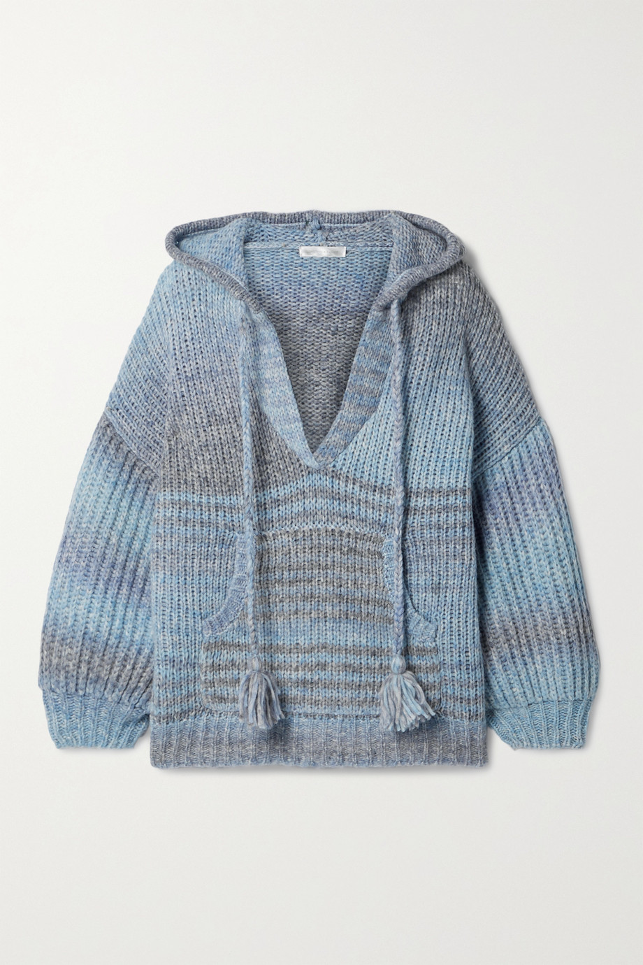 LoveShackFancy Remington knitted hoodie