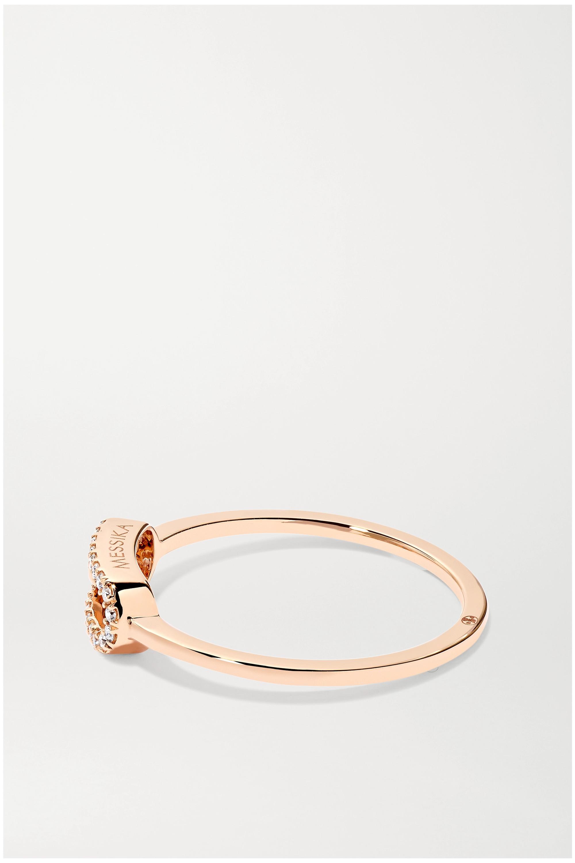 Messika Move Uno 18-karat rose gold diamond ring