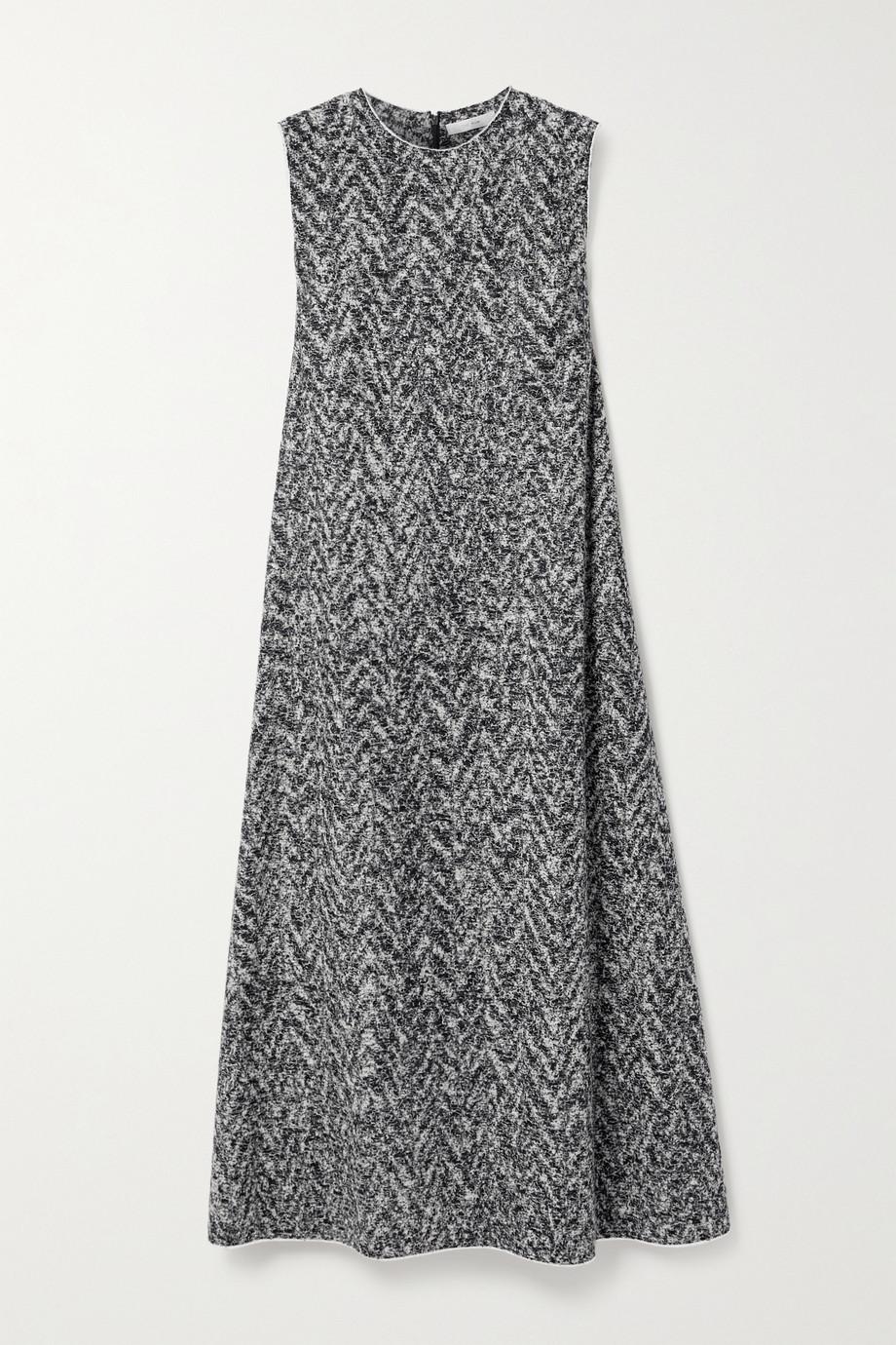 The Row Adda Midikleid aus Bouclé aus einer Wollmischung