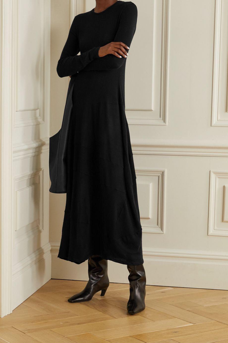 The Row Arabella stretch-cashmere maxi dress