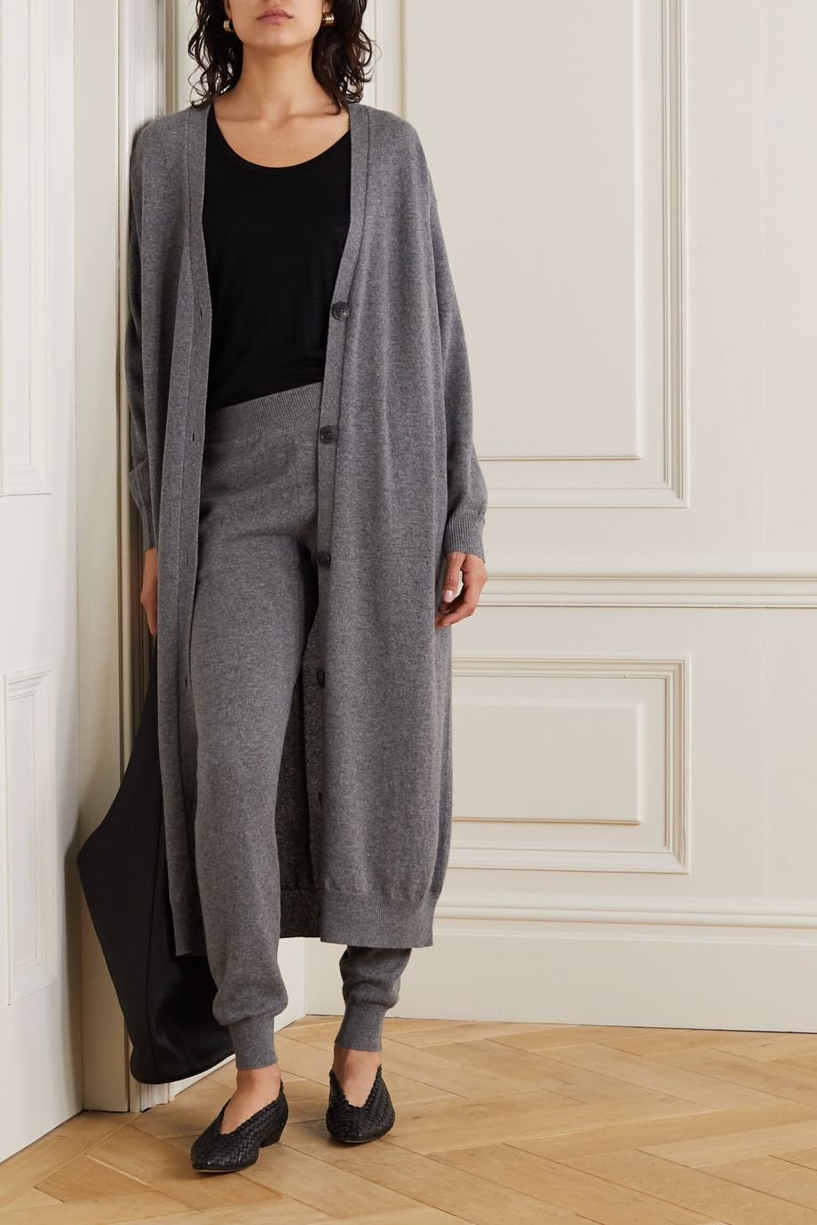 The Row Armando cashmere cardigan