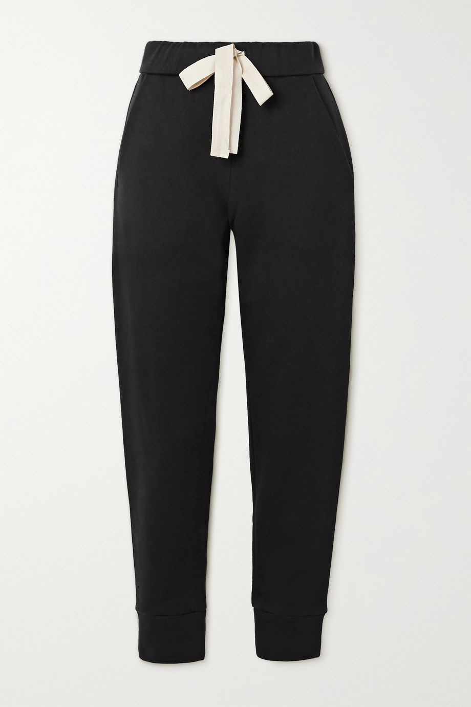 The Row Astone cotton and cashmere-blend track pants