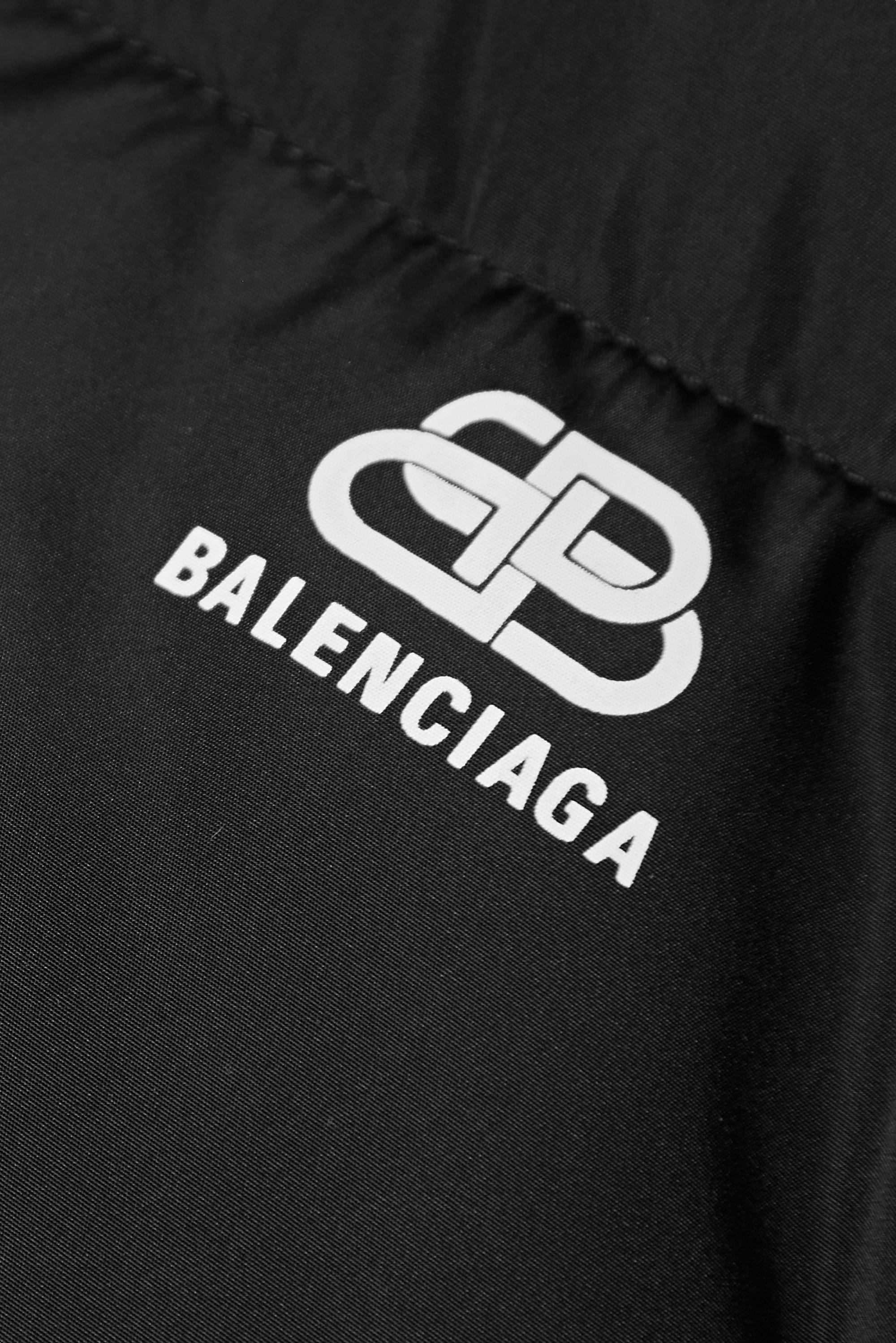 Balenciaga Doudoune oversize en tissu technique