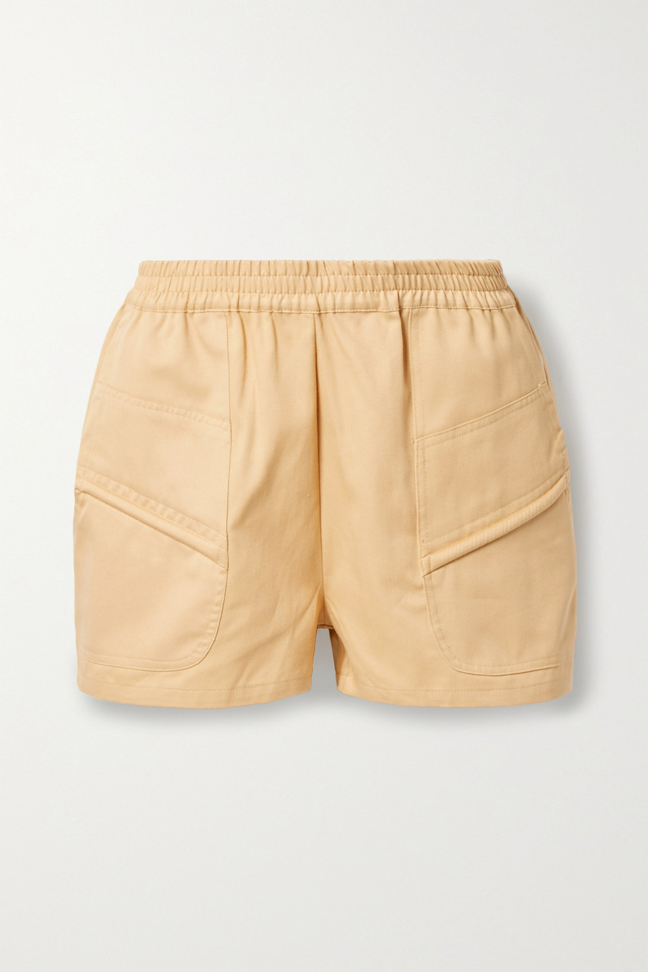 Paradised Prim cotton-twill shorts
