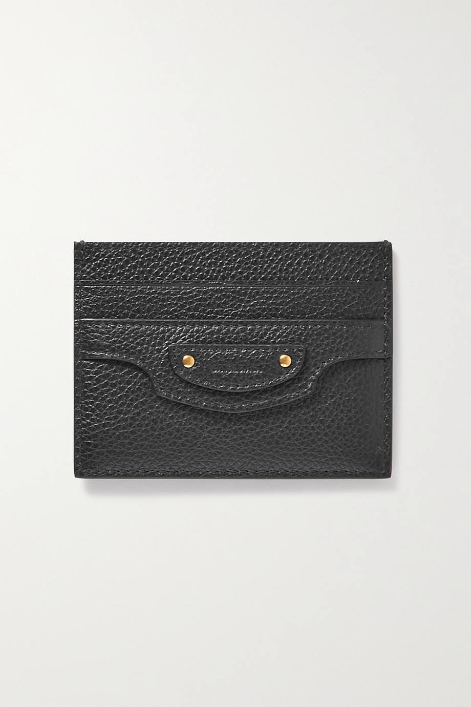 Balenciaga Neo Classic City textured-leather cardholder
